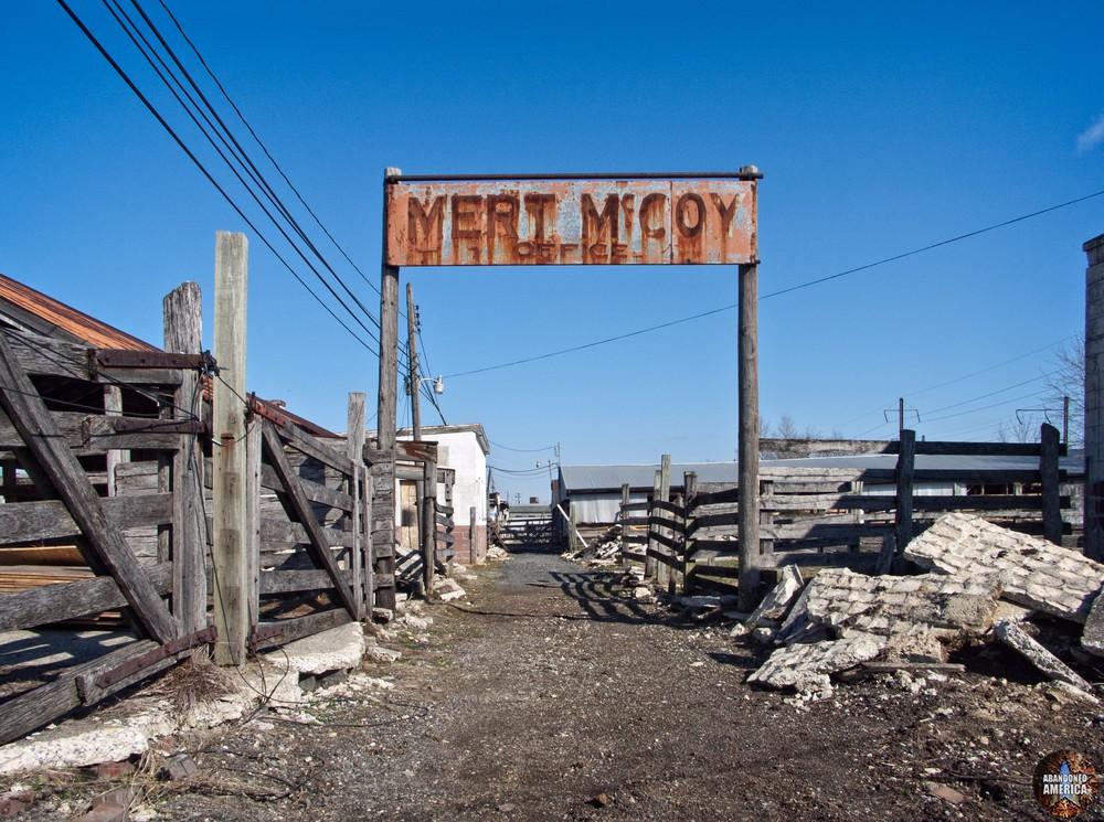 The Lancaster Stockyards | Mert McCoy's Office - Lancaster Stockyard