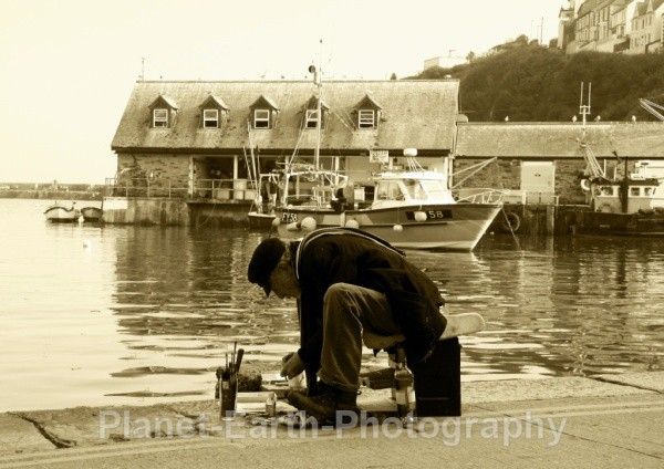 Mevagissey Artist - People And Portraits