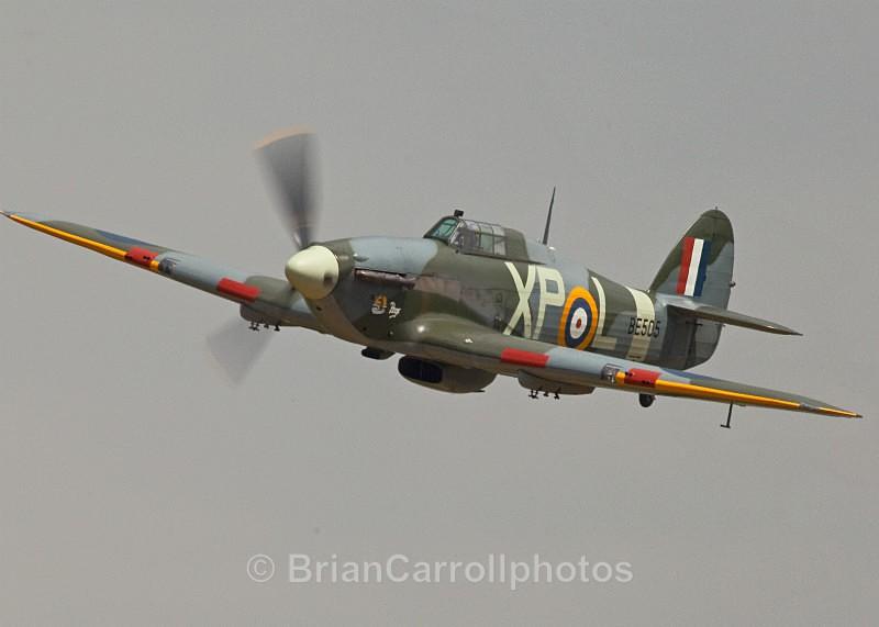 RAF Hawker Hurricane 2b XP-L/SE505 - Shuttleworth Air Show