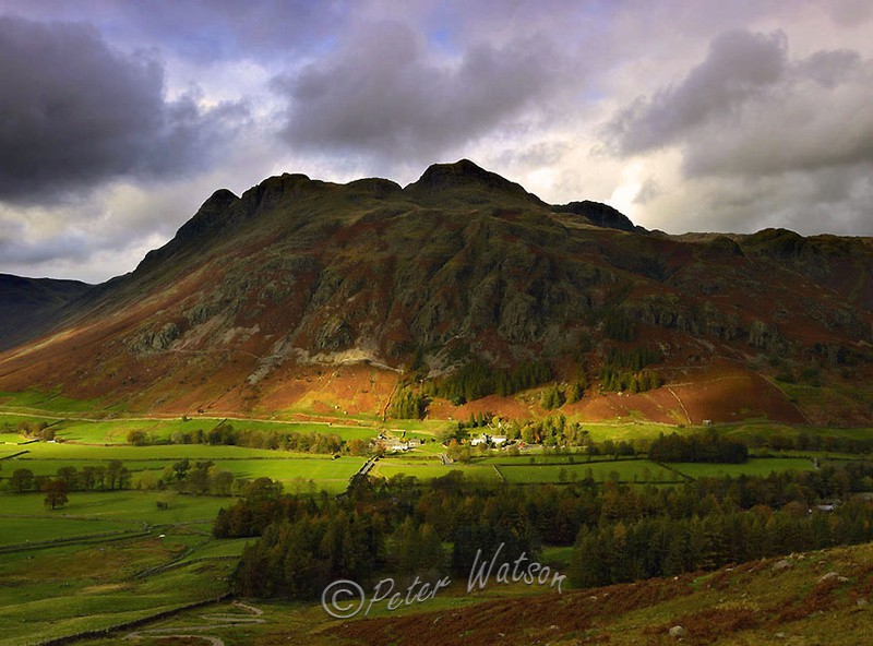 Great Langdale Cumbria - England
