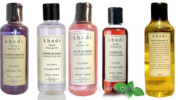 Khadi Massage Oils