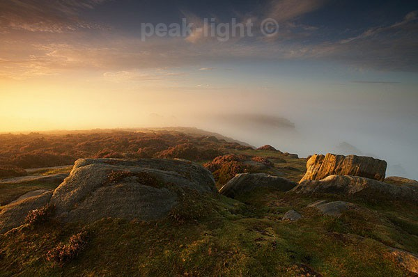 Curbar Mist - Peak District