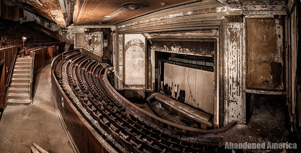 Victory Theatre (Holyoke MA) | Balcony Panorama - The Victory Theatre