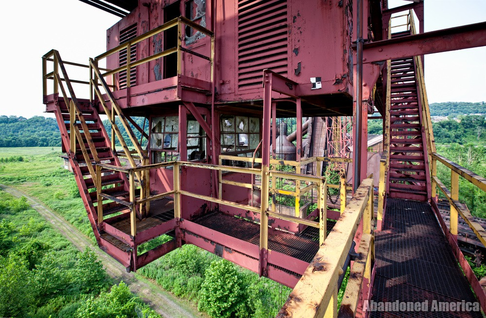 Carrie Furnaces (Rankin, PA) | Gantry Crane Operation Room - Carrie Furnaces