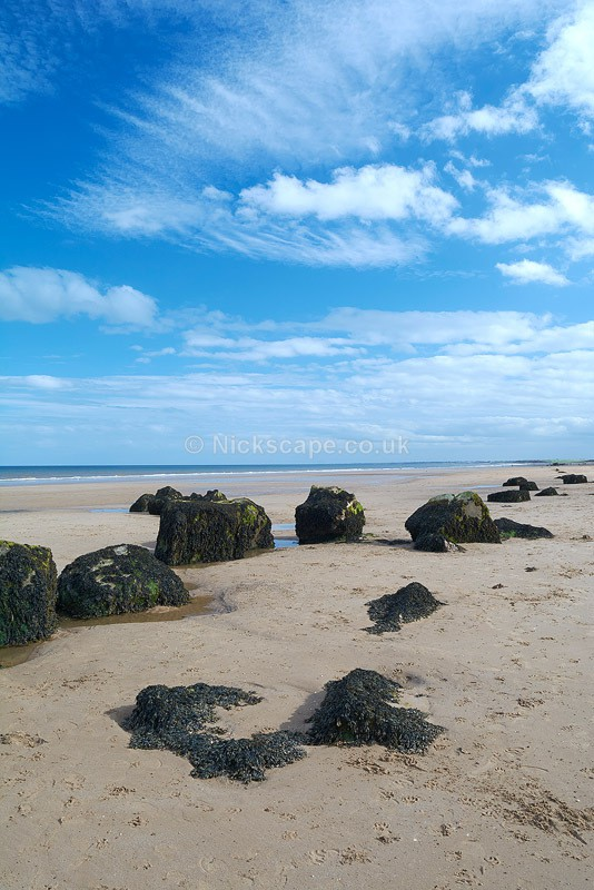 WW2 Defences at Fraisthorpe Beach - Yorkshire - Yorkshire