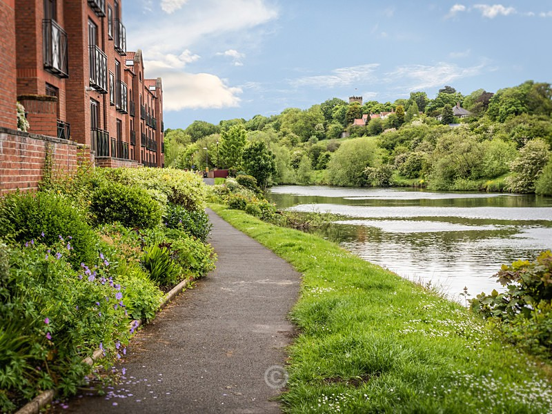 By the River at Yarm - YARM-on-Tees, Cleveland