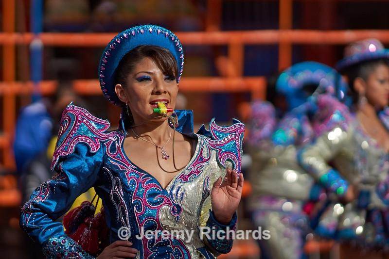 Caporales Dancer - Oruro Carnival 2017