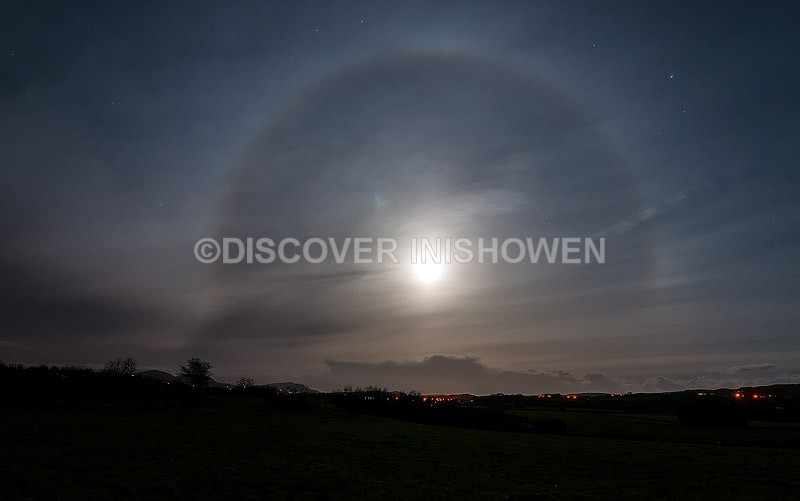 22° Moon halo - Nature