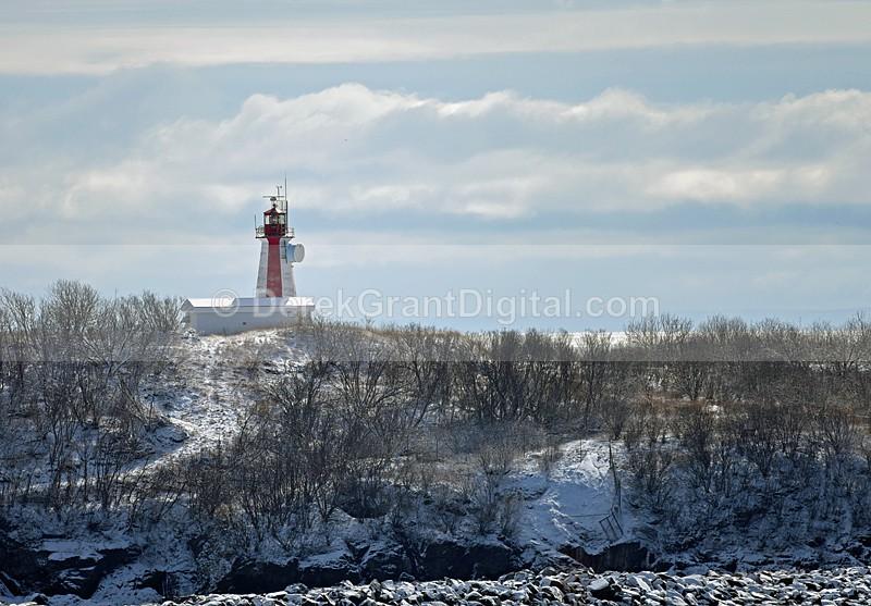 Partridge Island Lighthouse Saint John New Brunswick Canada - Lighthouses of New Brunswick