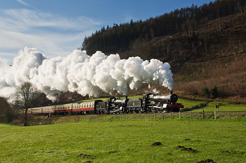 The climb to Talerddig - The Lure of Steam