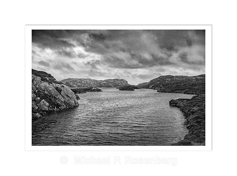 Protected Harbor, Rodel, Outer Hebrides Scotland - Scotland, UK