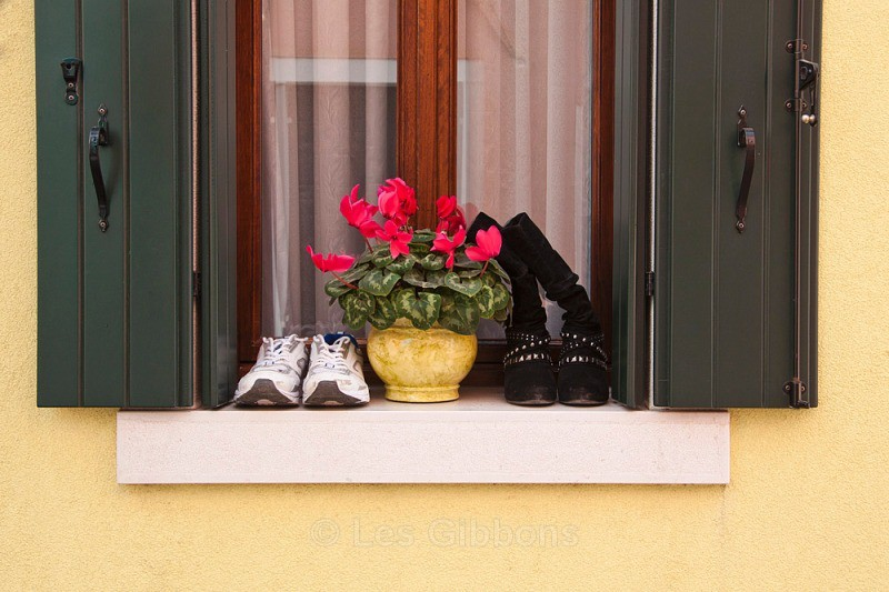 Burano - shoes - Venice