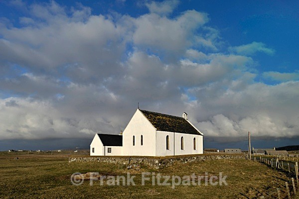 Howmore Church of Scotland, Howmore, South Uist. - Island of South Uist in the Outer Hebrides
