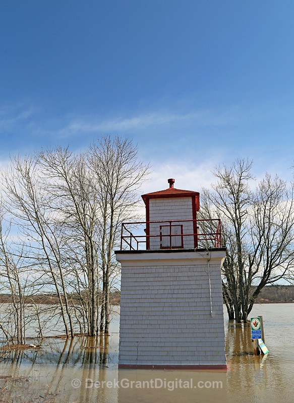 Hampstead Wharf Lighthouse - New Brunswick, Canada - Lighthouses of New Brunswick