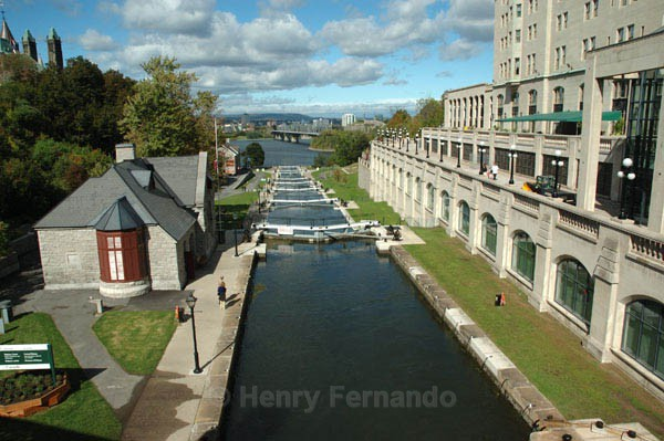 Rideau Locks - Summer