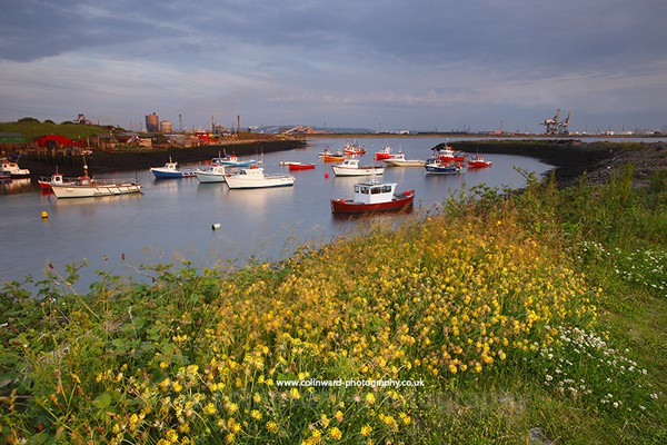 South Gare, Teeside.  ref  8159 - North Yorkshire and Cleveland