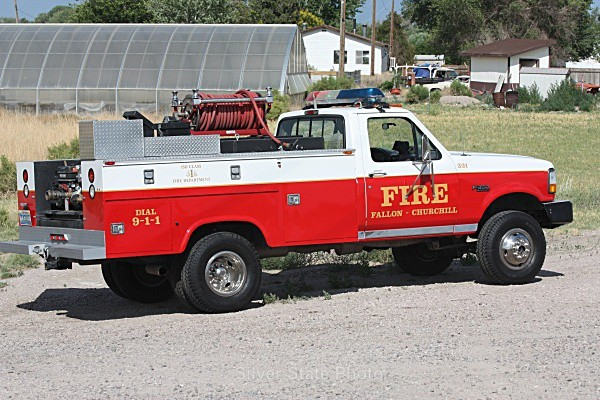Brush Truck - Fallon/Churchill Fire Department