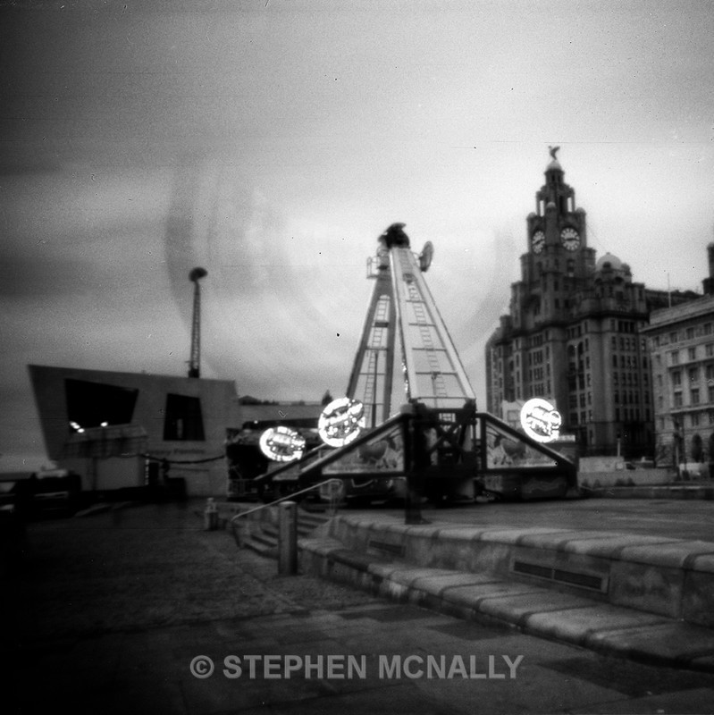 Pier Head - Pinhole Photography