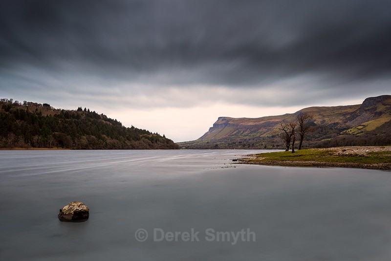 Dark Clouds Over Glencar Lake - Co. Leitrim