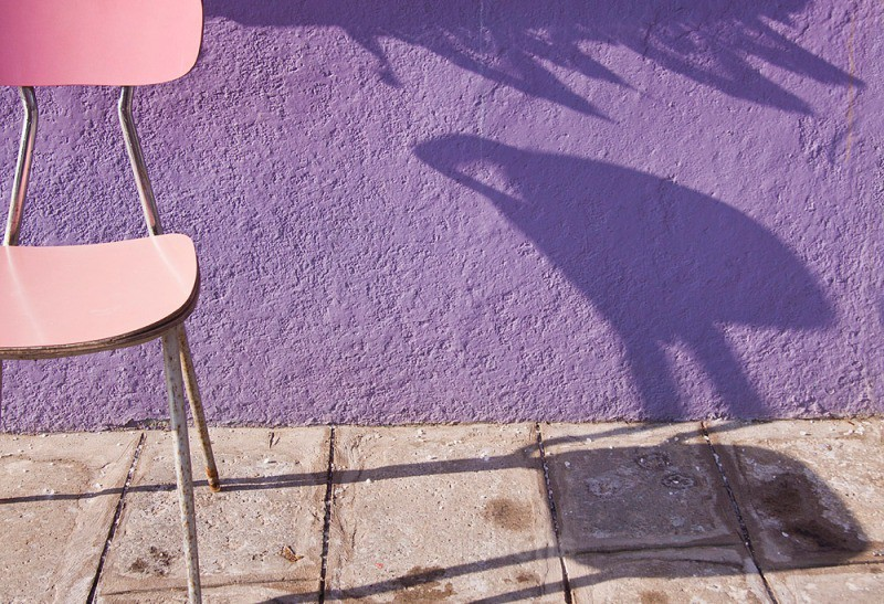 Burano - pink chair - Venice