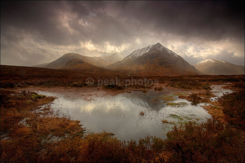 Flooded Reflections - Photographs of Scotland