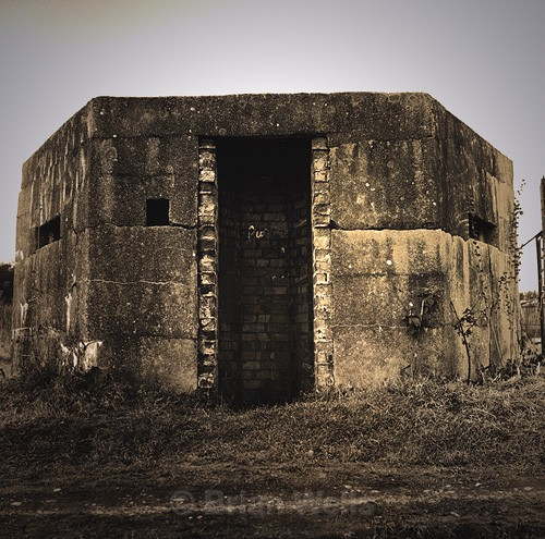 Pillbox, Thetford - The Black & White Gallery