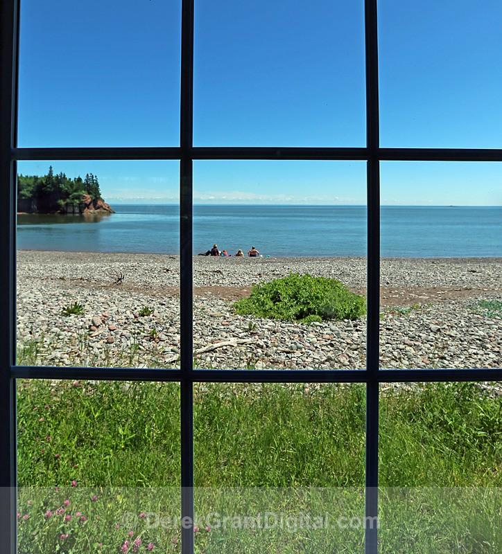 Bayview Window - New Brunswick Landscape
