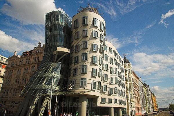 The Dancing building - Prague