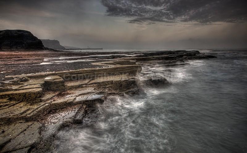 Saltwick Bay and Storm - Latest Work