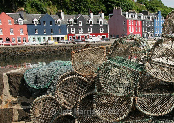 Tobermory waterfront (image Mull 003) - Urban Landscapes & Buildings
