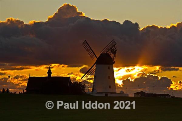 Lytham St Anne's Windmill at Sundown - Landscapes