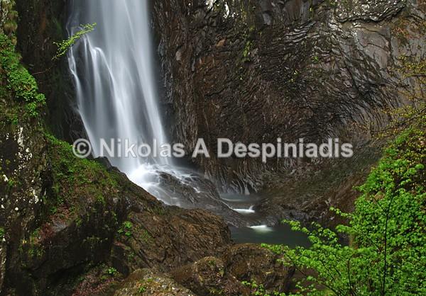 The Leivaditis waterfall I Καταρράκτης Τραχωνίου - Βόρεια Ελλάδα Ι North Greece