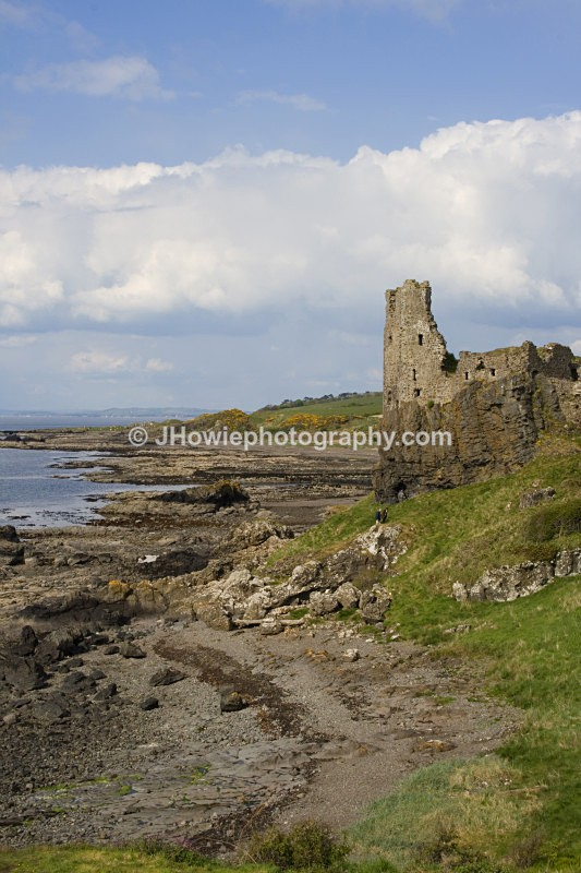 Dunure Castle - Ayrshire