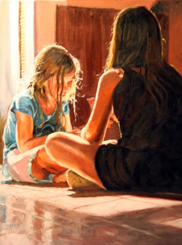 Jack Change it in Oils - Oil Paintings