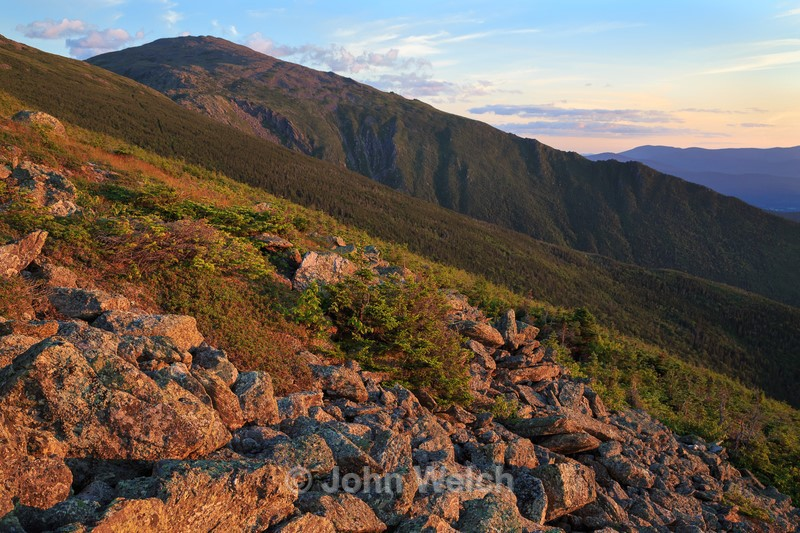 Alpenglow from Mt. Adams - White Mountain National Forest and Northern New Hampshire