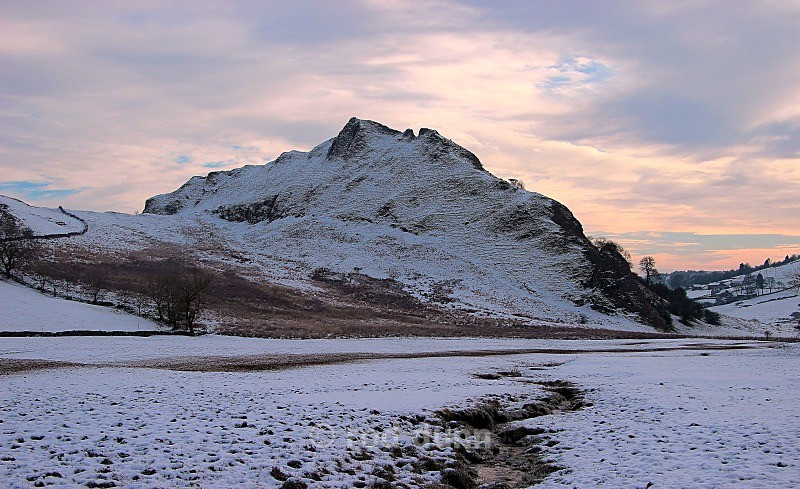 Parkhouse Hill in winter - Peak District
