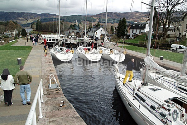 The Caledonian Canal - Land and Sea