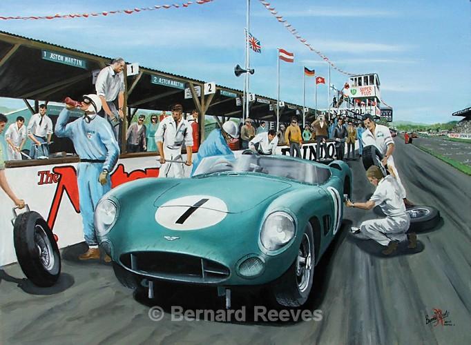 Aston Martin DBR1 Goodwood TT 1959 - Classic cars
