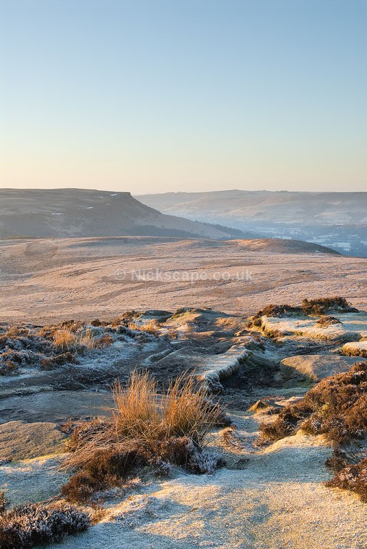 Frosty dawn in the Peak District | Photography from Derbyshire UK