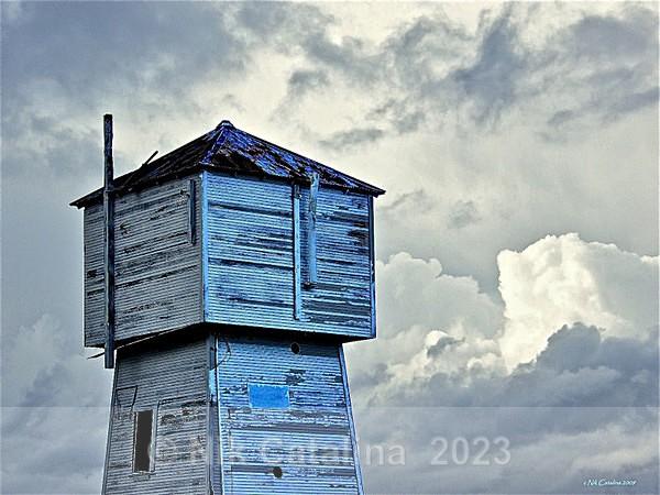 Blue Water Tower - Olde Things