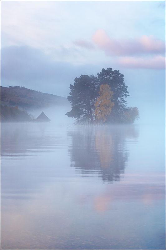 Crannog Dawn - Photographs of Scotland