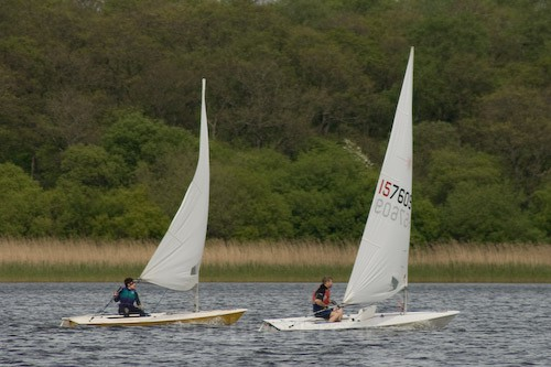 Laser Dinghy Racing - Sports/Action Images