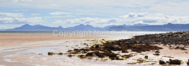 Applecross Bay, Highland - Panoramic format