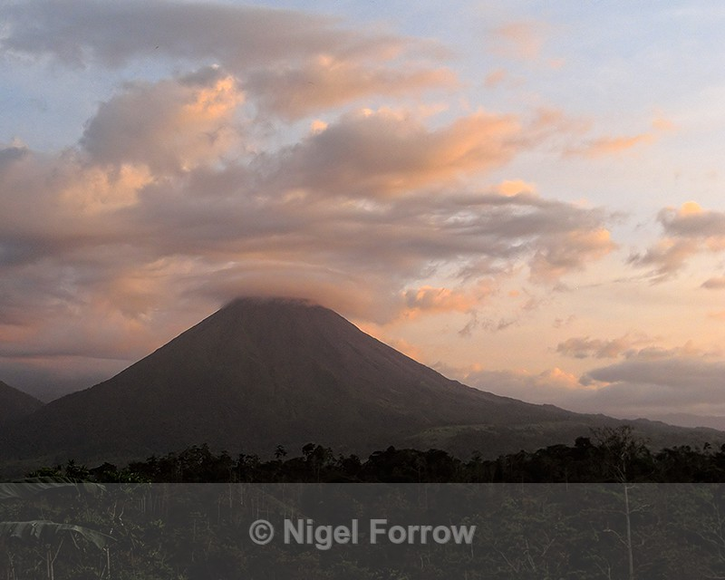 Arenal Volcano sunset, Costa Rica - Costa Rica