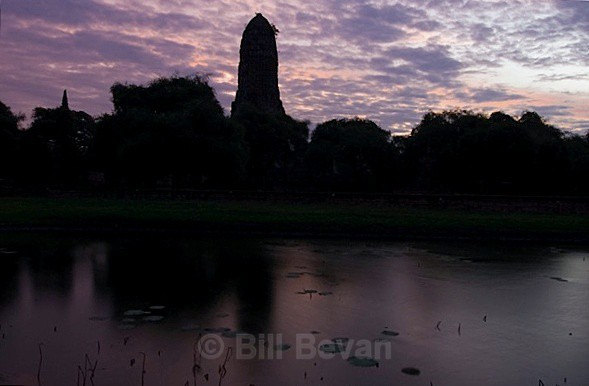PhraRam Sunrise - Ayutthaya