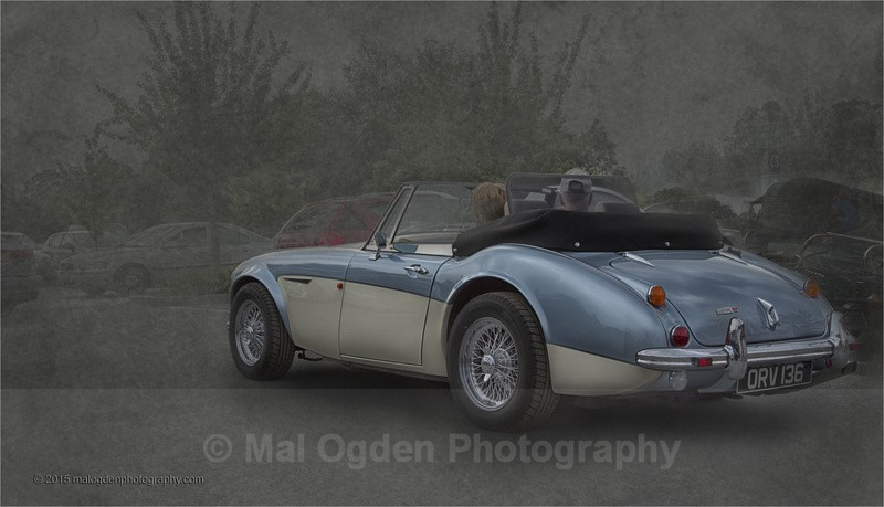 Austin Healey 3000 - Digitally Manipulated