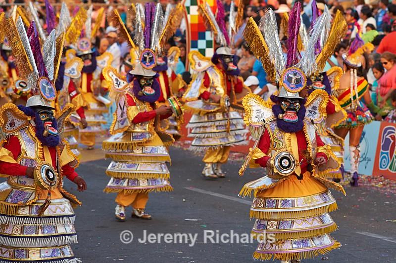 Morenada dance group - Carnaval Andino Con La Fuerza Del Sol - Arica