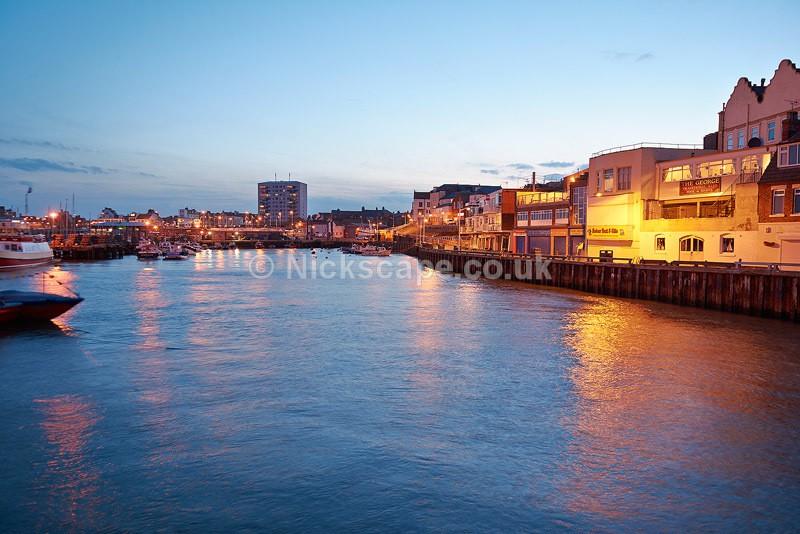 Bridlington Harbour Sunset - Yorkshire - Yorkshire