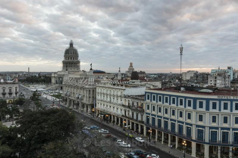 Capitol building sunset - Cuba