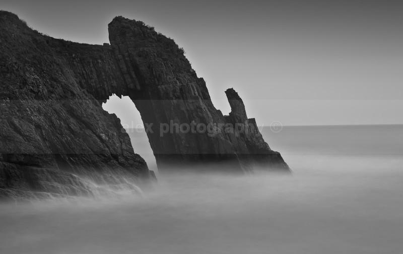 London Bridge Natural Arch, Devon - Landscape & Seascape